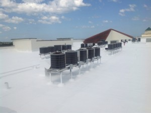 Roof Coating On Sole Condominium