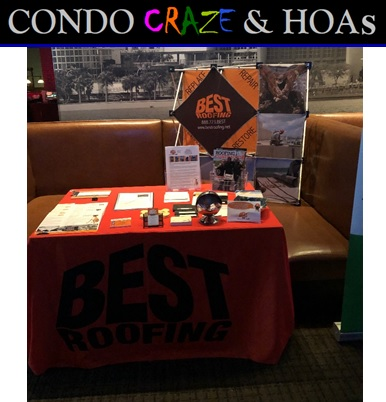 Best Roofing at Condo Craze seminar