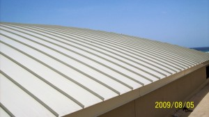 metal roof commercial roofing