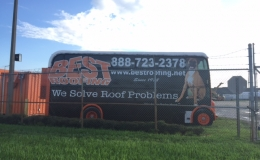 Best Roofing Bus