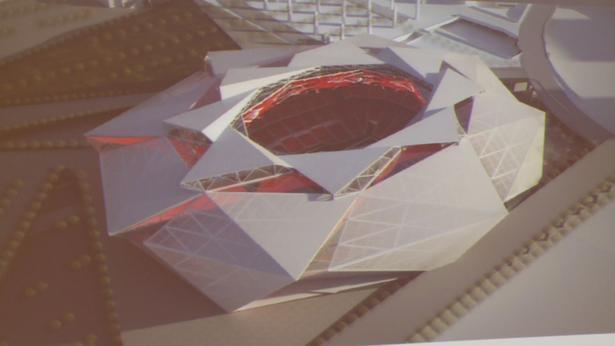 New Falcons stadium roof would twist open closed - Image 1