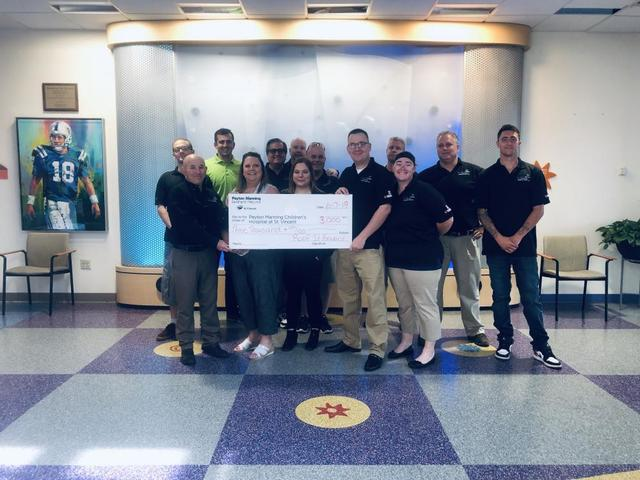ARAC Roof It Forward Announces 2019 Q1 Donation to The Peyton Manning Children\'s Hospital - Image 1
