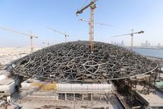 7716ton domed roof of Louvre Abu Dhabi to give  - Image 1