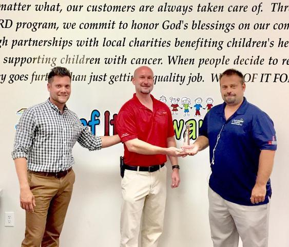 ARAC Roof It Forward Receives the Beacon Lighthouse Award - Image 1
