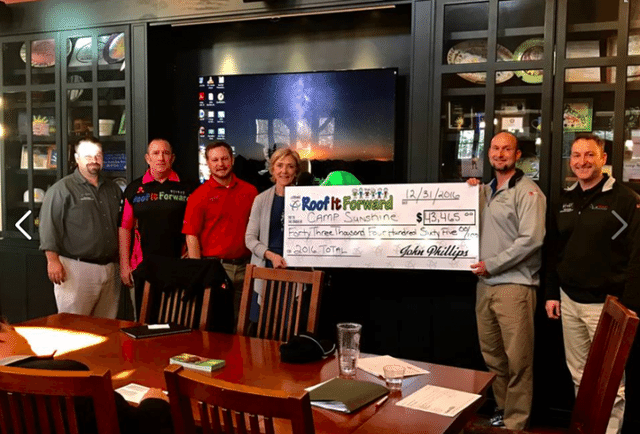 ARAC Roof It Forward Announces 2016 Donation Total to Camp Sunshine - Image 2
