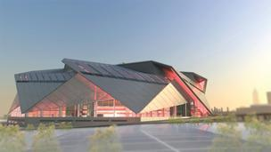 New Falcons stadium renderings