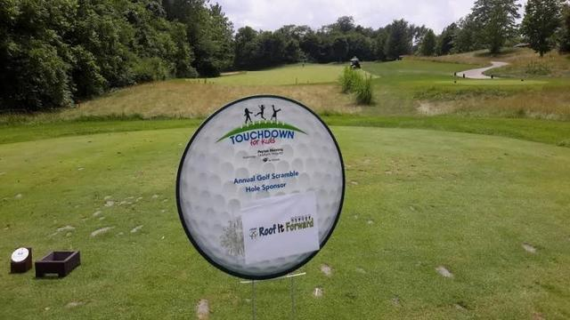 ARAC Roof It Forward Indiana sponsors Touchdown for Kids Golf Tournament - Image 1